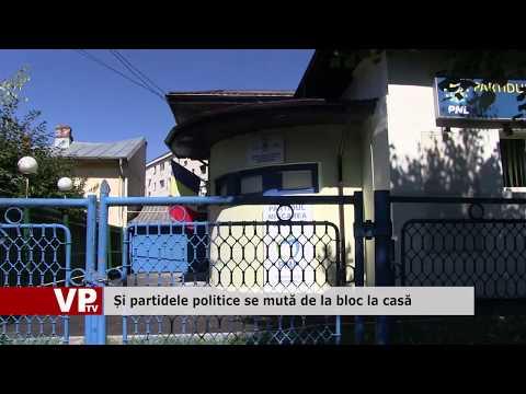 Și partidele politice se mută de la bloc la casă