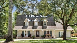 Thibodaux (LA) United States  city pictures gallery : Thibodaux LA - Home for sale - Guided Video Tour 419 Plater Drive - Meg Kearns