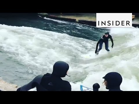 Surfing the Rivers of Munich
