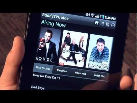Video of BuddyTV Guide