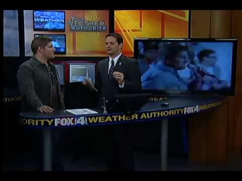 The Rapping Weatherman interviews American Idol star Michael Sarver