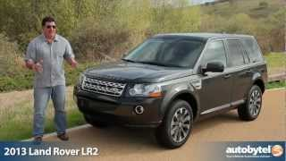 2013 Land Rover LR2 Off-Road Test Drive&SUV Video Review