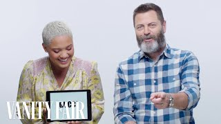 Video Nick Offerman Learns Millennial Slang From Kiersey Clemons | Vanity Fair MP3, 3GP, MP4, WEBM, AVI, FLV Juli 2018