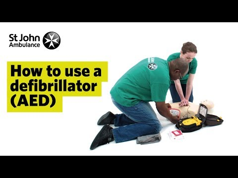 How to Use a Defibrillator (AED) - First Aid Training - St John Ambulance
