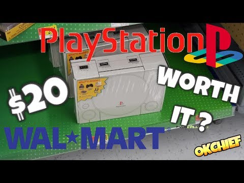 Walmart $20  Playstation 1 Mystery Box - Okchief