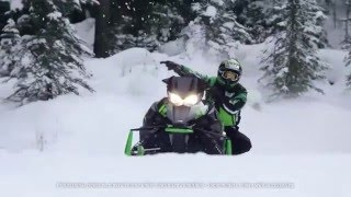 6. Arctic Cat 2017 ZR Sno Pro Ride Package