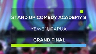Video Stand Up Comedy Academy 3 : Yewen, Papua MP3, 3GP, MP4, WEBM, AVI, FLV Oktober 2017