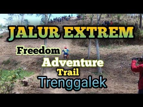 Video JALUR EXTREM - FREEDOM ADVENTURE TRAIL TRENGGALEK ( FATT 1 ) download in MP3, 3GP, MP4, WEBM, AVI, FLV January 2017
