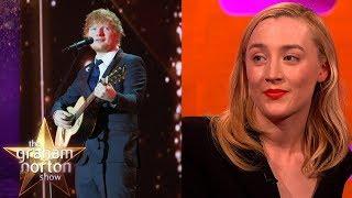 Video Ed Sheeran Tattooed Saoirse Ronan's Handwriting Onto Himself! | The Graham Norton Show MP3, 3GP, MP4, WEBM, AVI, FLV Juli 2018