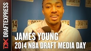 James Young - 2014 NBA Draft Media Day