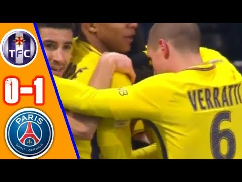 Toulouse vs PSG 0-1   All Goals & Extended Highlights   Ligue1 10/02/2018 HD