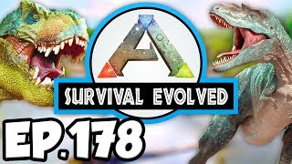 ARK: Survival Evolved Ep.178 - WARCHIEF BATTLE, MOST POWERFUL DINOSAURS? (Modded Dinosaurs Gameplay)