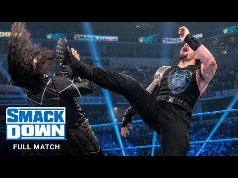 FULL MATCH - Shinsuke Nakamura vs. Roman Reigns: SmackDown, Oct. 18, 2019