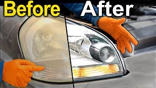 Video How To Restore Headlights PERMANENTLY ( Better Than a BRAND NEW Headlight ) MP3, 3GP, MP4, WEBM, AVI, FLV Juli 2019