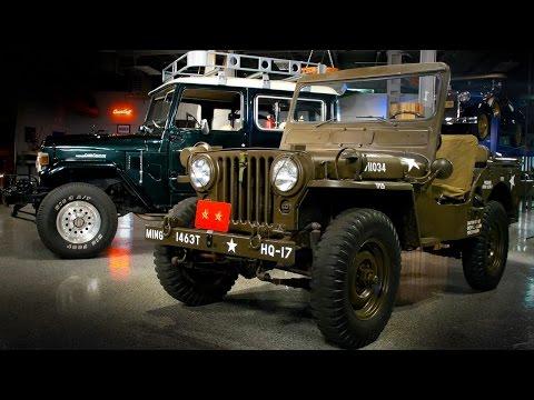 1952 Willys Jeep vs. 1976 Toyota Land Cruiser – Generation Gap: 4x4s