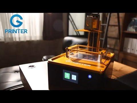 G Printer- The 3D Printer Designed for Individuals
