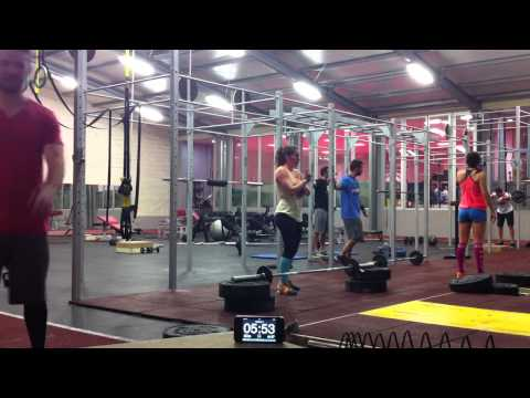 Crossfit Games Open 15.1 and 15.1a