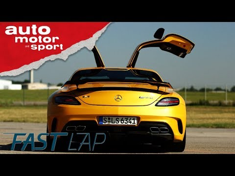 Mercedes SLS AMG Black Series: Wo landet der Vater  ...