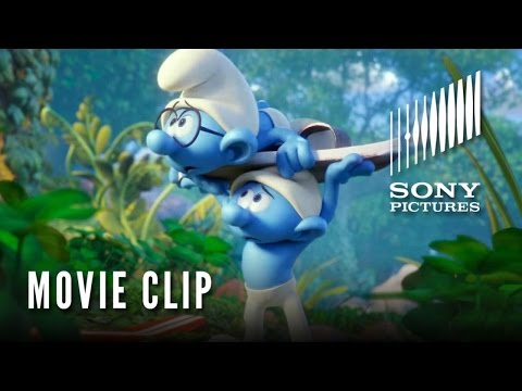 Smurfs: The Lost Village (Clip 'Smurf Boarding')