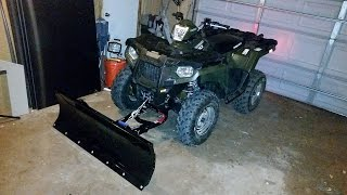 10. Polaris Glacier Pro Plow Review and Warning!