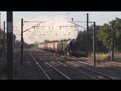 LNER 60163 'Tornado' with 'The Silver Jubilee Talisman' 2...