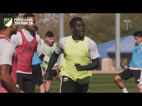 Video: Timbers in Tucson | Modou Jadama joins the team