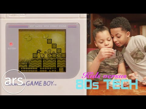 Kids versus a Game Boy, Vectrex and other 80's tech | Ars Technica