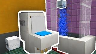Video Minecraft : COMO FAZER UM BANHEIRO QUE FUNCIONA!! (SEM MODS) MP3, 3GP, MP4, WEBM, AVI, FLV Mei 2019