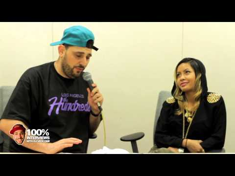 vickuno - Honey Cocaine interview at Power 106 with DJ Vick One.