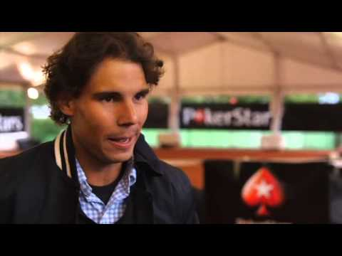 RAFA NADAL PLAYS AN ACE WITH 100 FANS IN PARIS_Legjobb vide�k: P�ker