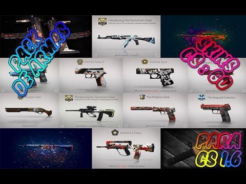 Pack de Armas para Cs 1.6 | Skins del CS:GO #2