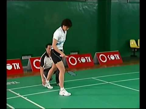 Badminton Footwork - Chen Weihua Training 25 Footworks Basic 1