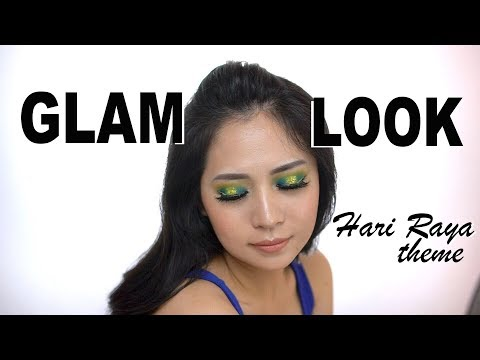 CREATION MAKEUP | GLAM LOOK | HARI RAYA THEME