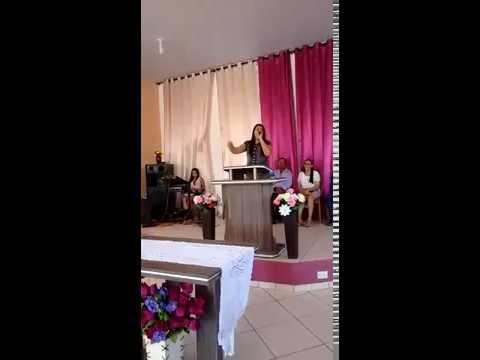 FORTE!! Veja Mary Mendes cantando e São Pedro dos Crentes Promessa de Deus