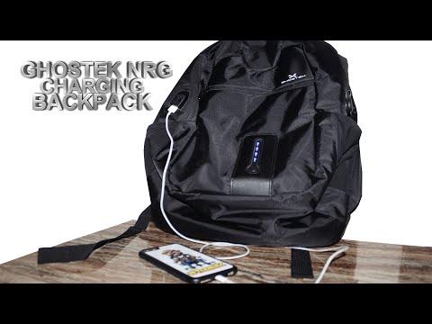 Ghostek NRGbag Review! 7000mAh Charging Backpack | Tech Reviews