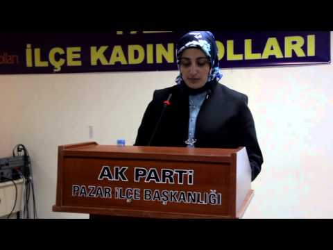 Pazar AK Parti'de kadınlar Gönül Bal ile devam dedi-VİDEO