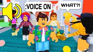 USING VOICE CHAT IN ROBLOX WITH ADMIN COMMANDS!