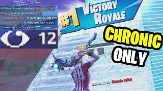 Winning A Chronic Only Custom Scrim