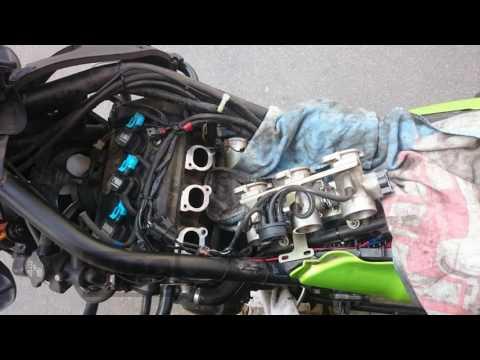 tiger 955i HEAD GASKET damage & its solution
