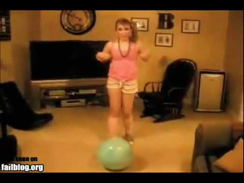 Ball Sprung Unfall Lustig