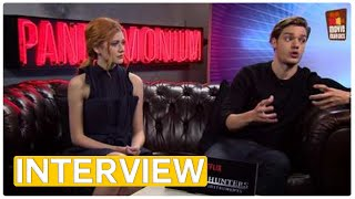 Shadowhunters - Katherine McNamara & Dominic Sherwood | exclusive interview (2016) by Movie Maniacs