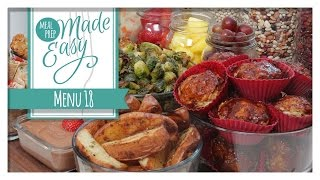 SUBSCRIBE to The Domestic Geek here: http://bit.ly/1dn24vP *NEW* Meal Prep Made Easy eBook  Menus 13 -18:...