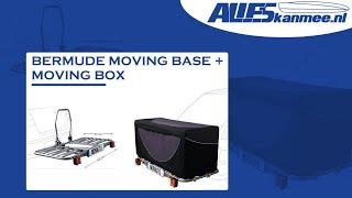 Een informatiefilm over de bagagebox voor op de trekhaak van Bermude, de moving base met de moving box