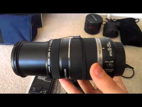 Kit Review // Canon 450d
