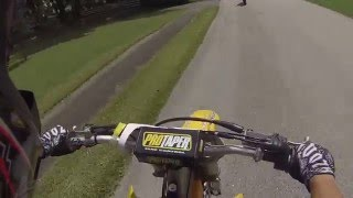 6. YZ450F and RMZ450 ditch cops