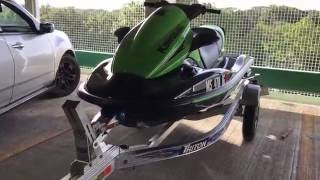 8. 2016 KAWASAKI STX 15F Walk around