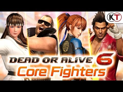 Annonce de Dead or Alive 6: Core Fighter de Dead or Alive 6