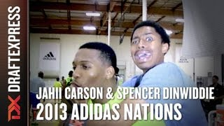 Jahii Carson & Spencer Dinwiddie - 2013 adidas Nations - Smack Talk