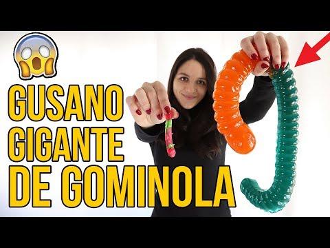 Videos caseros - Gominola GIGANTE vs NORMAL