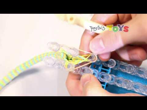 How to Tutorial for Rainbow Loom Bracelet .